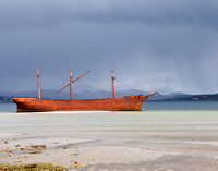 Shipwreck - Falkland Islands